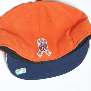 Accessories - Denver Broncos NFL Fitted Hat Camo Support Troops